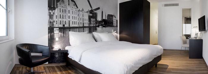 Original hotelsinntel zaandam hotel industrial design and many fa ades original hotels for Design kamers